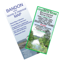 Bandon & Coquille maps
