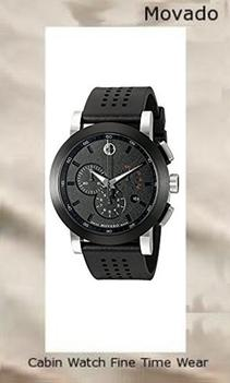 Product specifications Watch Information Brand, Seller, or Collection Name Movado Model number 606545 Part Number 0606545 Model Year 2011 Item Shape Round Dial window material type Synthetic sapphire Display Type Analog Clasp Buckle Case material Stainless steel Case diameter 44 millimeters Case Thickness 11 millimeters Band Material Rubber Band length Men's Standard Band width 22 millimeters Band Color Black Dial color Black Bezel material Stainless steel Bezel function Stationary Calendar Date Special features measures-seconds, Chronograph, Luminous Item weight 14.40 Ounces Movement Swiss quartz Water resistant depth 99 Feet