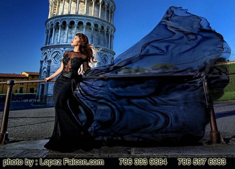 QUINCES PHOTOGRAPHY EUROPE PISA ITALY ROME FLORENCE QUINCEANERA LOPEZ ALCON