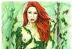 "Poison Ivy ""Monique Alexander""; 11""x14"" Watercolor markers and brush with Prismacolor color pencils and gel pens on Bristol"