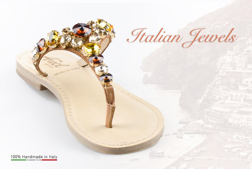 Sandals for women handmade in Italy