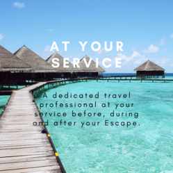 Easy Escapes Travel: At your service. A dedicated travel advisor before, during and after your escapeExpert Travel Advise + No Booking Fees