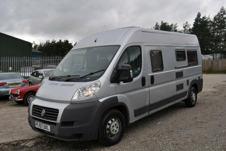2007 57 PLATE FIAT DUCATO CAMPER WITH MOT & IN REGULAR USE 4 BERTH