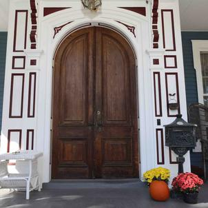 Our Welcoming Front Door at The Grand Dutchess