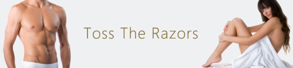 no more razors with laser hair removal