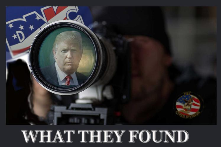 Those who surveilled Donald J. Trump found: nothing!