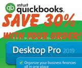 Intuit quickbooks accounting software Desktop Pro prints cheques our discounted price!