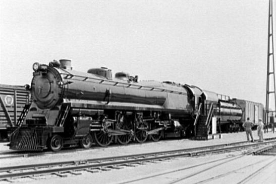 B&O Class N 4-4-4-4 No. 5600, the George H. Emerson.