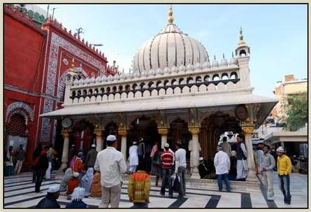 The shrine of Hazrat Nizamuddin Auli (R.A) New Delhi -India