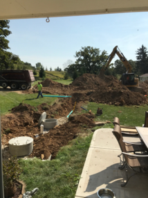 Conventional Septic Install
