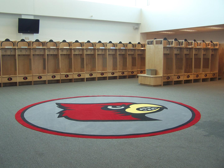 Custom Built Football Locker Rooms Oakwood Sports
