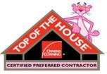Ownes Corning Top of The House Certified Contractor - EcoMaster LLC