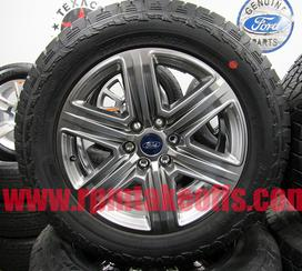 "2018 Ford F-150 Sport Appearance package 20"" 6 lug wheels and tires"