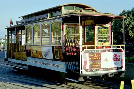 San Francisco Municipal Railway Cable Car No. 4.