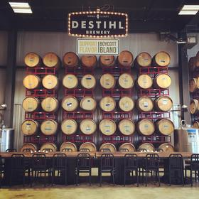 Image of DESTIHL Brewery's Barrel Room