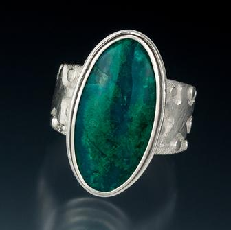 Carol Holaday - Tide Pool 2 ring