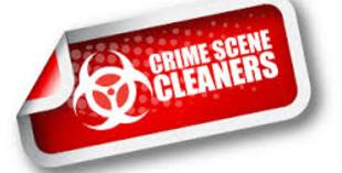 Crime scene cleaners tag representing crime scene cleanup in Pasco County Florida