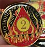 Custom Coin Series for AA Sobriety Alcholics Anonymous Birthday, Sobriety Inspired by Bex Coin Minting