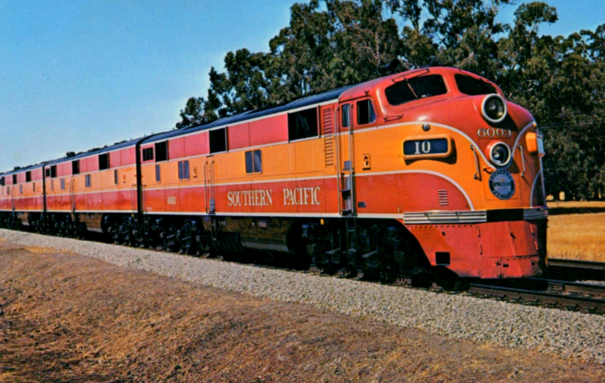 The Shasta Daylight in 1949.