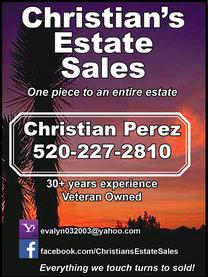Real Estate Press, Southern Arizona, Christian's Estate Sales