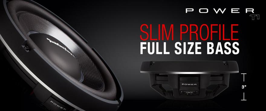 Rockford Fosgate Slim Mount Woofer Twinsburg Warren Ohio