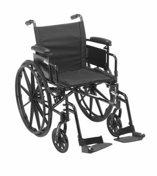 simple folding wheelchair category 1