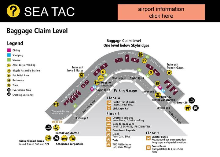 sea tac information