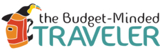 BUDGET MINDED TRAVELER LOGO LINK TO WEBSITE