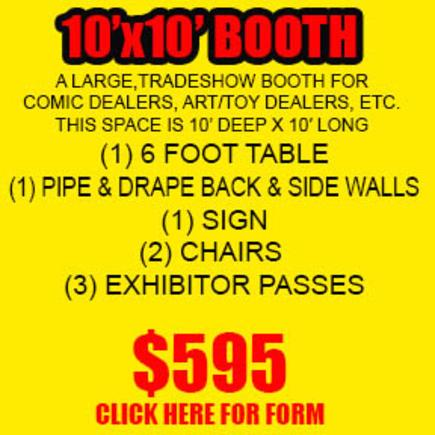 10x10 inline booth