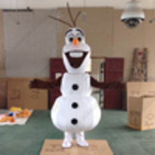 Hire Olaf, Frozen style snowman
