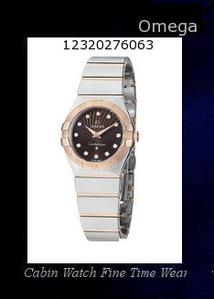 Watch Information Brand, Seller, or Collection Name Omega Part Number 123.20.27.60.63.001 Item Shape Round Dial window material type Anti reflective sapphire Display Type analog-display Clasp Deployment Buckle Case material stainless-steel-gold Case diameter 27 millimeters Band Material stainless-steel-gold Dial color Brown Bezel material Fixed Rose Gold Special features Luminous Movement Quartz Water resistant depth 100 Meters