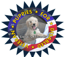 Lora's Friends Puppies for Disabled Veterans
