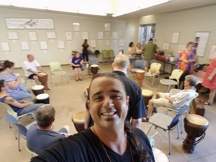 Community Building Drum Circle Hospitals & Senior Living
