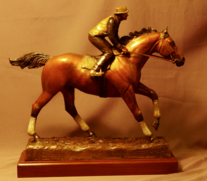 western bronze sculpture