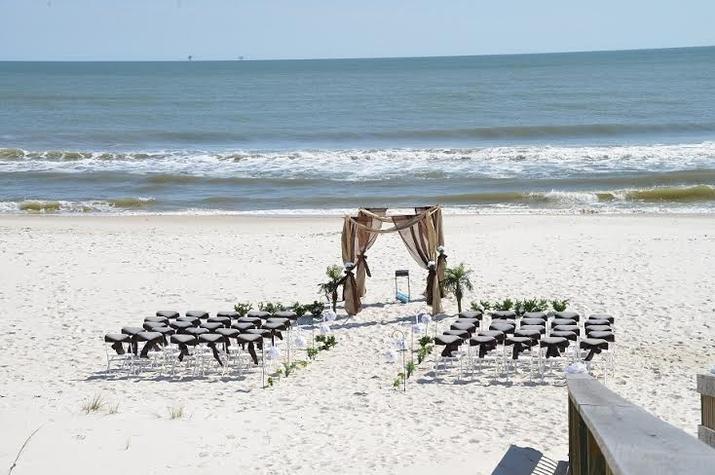 Orange Beach AL Beach Wedding Ceremony Only Services