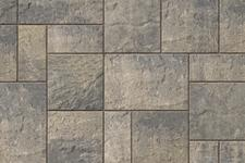 Unilock Concrete Paver Beacon Hill Flagstone Color Steel Mountain