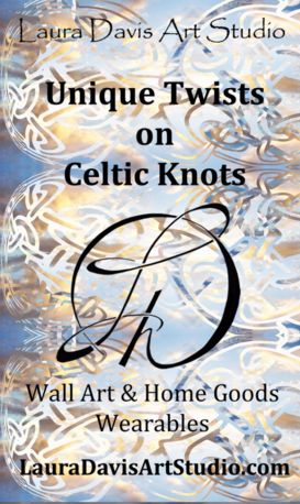 Shop Laura Davis Art Studio Unique Twists on Celtic Knots