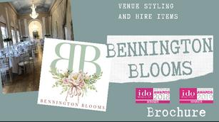 Bennington Blooms online Brochure