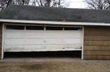 After Picture Of New Garage Door Install Inside View Burnsville