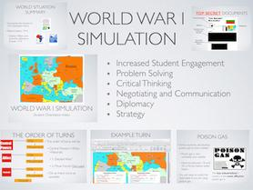 World War 1 Simulation Lesson Plan