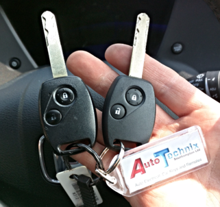 Honda remote keys