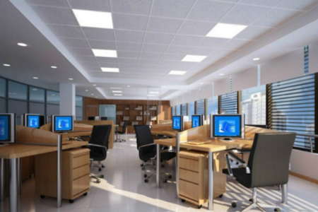Commercial office led lighting
