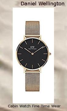 Daniel Wellington Classic Petite Melrose in Black 32mm DW00100161,daniel wellington