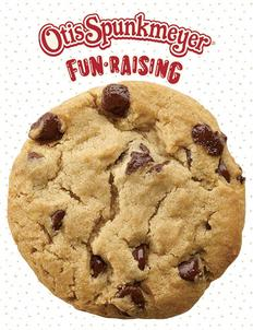 Otis Spunkmeyer Cookie Dough Fundraising Brochure