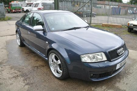 2002 AUDI S6 LOW MILES LEATHER RECAROS BOSE