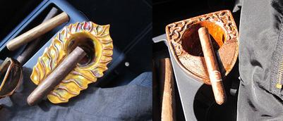 Cicar Car Cigar Ashtrays