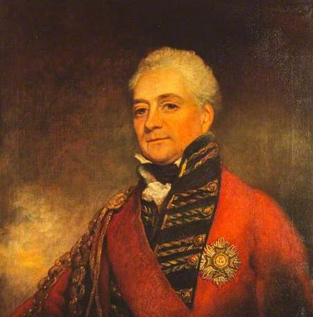 Major General Sir David Ochterlony who led the British East India Company troops and defeated the Gurkhas
