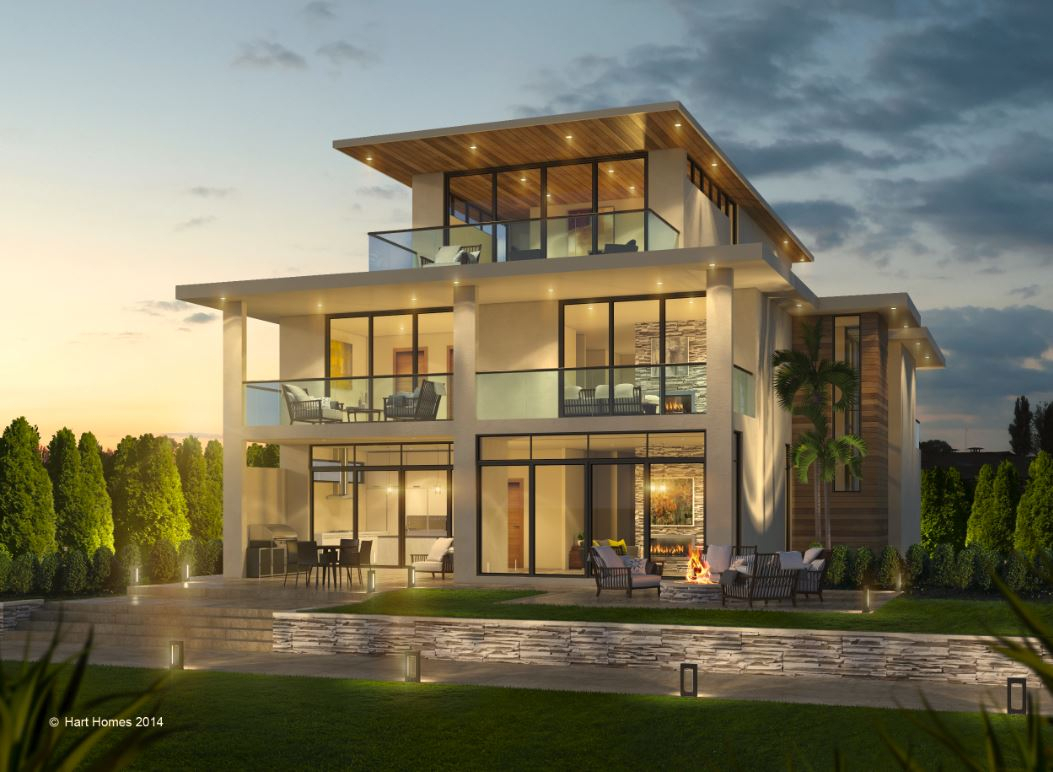 Hart homes is a modern contemporary home builder in south florida we create beautiful modern contemporary homes for waterfront properties and in the most