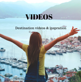 Travel videos and destination inspiration
