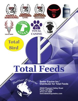 Total Feeds Booklet by Better Equine Inc.